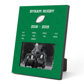 Rugby Photo Frame - Team Roster