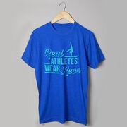 Gymnastics Short Sleeve T-Shirt - Real Athletes Wear Leos