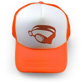 Swimming Trucker Hat Goggles