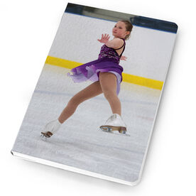Figure Skating Notebook Custom Photo