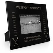 Crew Engraved Picture Frame - Team Name With Roster
