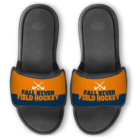 Field Hockey Repwell® Slide Sandals - Team Name Colorblock