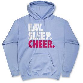 Cheerleading Standard Sweatshirt - Eat Sleep Cheer