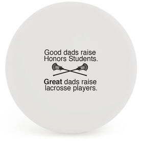 Personalized Great Dads Lacrosse Ball (White Ball)
