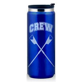 Stainless Steel Travel Mug Crew Crossed Oars