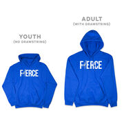 Figure Skating Hooded Sweatshirt - Fierce Figure Skater