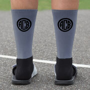 Personalized Printed Mid-Calf Socks - My Graduation