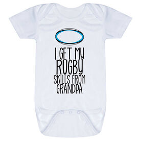 Rugby Baby One-Piece - I Get My Skills From