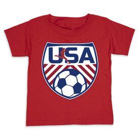 Soccer Toddler Short Sleeve Tee - Soccer USA