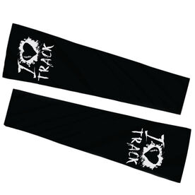 Track & Field Printed Arm Sleeves - I Heart Track