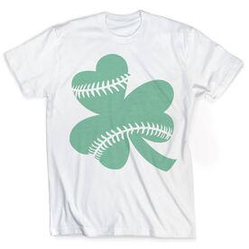 Vintage Softball T-Shirt - Shamrock Stitches