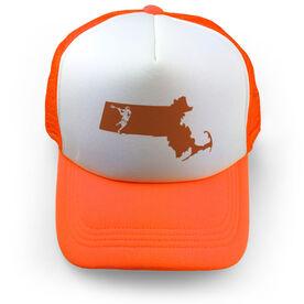Guys Lacrosse Trucker Hat MA Lax Guys