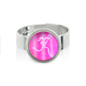 Lacrosse Stick Figure SportSNAPS Ring