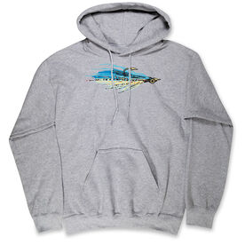 Fly Fishing Hooded Sweatshirt - Clouser
