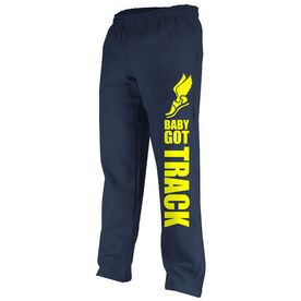 Track and Field Fleece Sweatpants Baby Got Track
