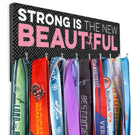 Running Hooked on Medals Hanger - Strong Is The New Beautiful