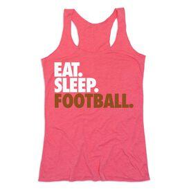 Football Women's Everyday Tank Top - Eat. Sleep. Football