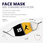 Softball Face Mask - Personalized Batter