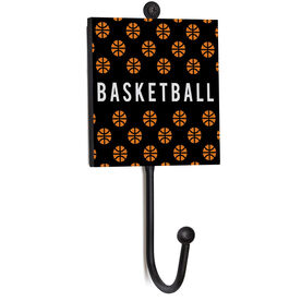 Basketball Medal Hook - Basketball Pattern