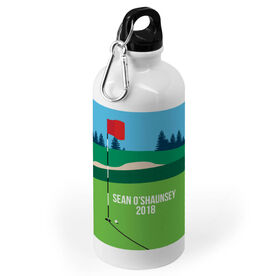 Golf 20 oz. Stainless Steel Water Bottle - Course