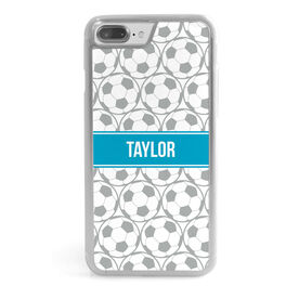 Soccer iPhone® Case - Personalized Soccer Ball Pattern