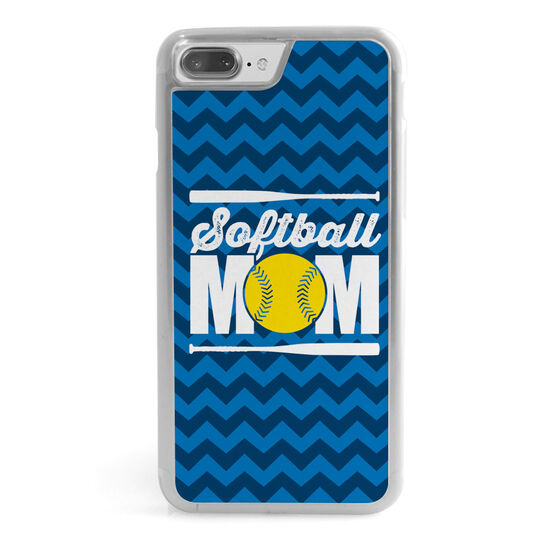 Softball iPhone® Case - Softball Mom