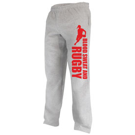 Rugby Fleece Sweatpants Blood Sweat And Rugby Female