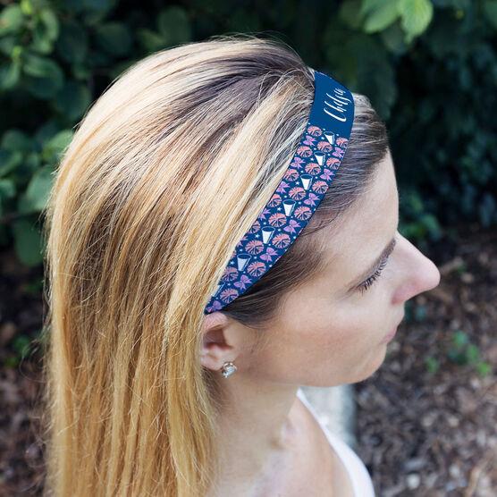 Cheerleading Julibands No-Slip Headbands - Personalized Cheerleading Pattern