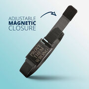 Adjustable Stainless Steel Magnetic Bracelet - Prove Them Wrong