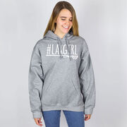 Girls Lacrosse Hooded Sweatshirt - #LAXGIRL