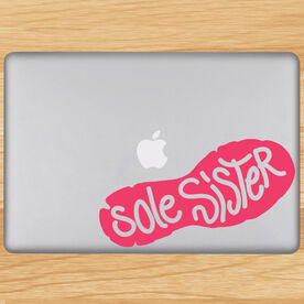 Sole Sister Removable GoneForaRunGraphix Laptop Decal