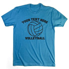 Custom Volleyball T-Shirt Short Sleeve
