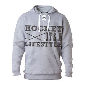 For Hockey Players Only Sweatshirt - Hockey It's a Lifestyle