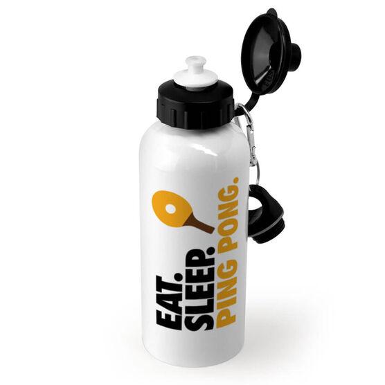 Ping Pong 20 oz. Stainless Steel Water Bottle - Eat. Sleep. Ping Pong.
