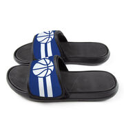 Basketball Repwell® Slide Sandals - Team Color Stripes