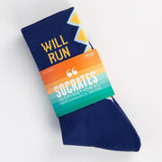 Socrates® Mid-Calf Performance Socks - Run For Beer