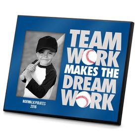 Baseball Photo Frame Team Work