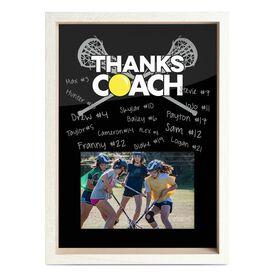 Girls Lacrosse Premier Frame - Thanks Coach