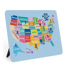 Running Desk Art - Run 50 States