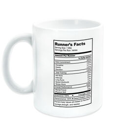 Running Coffee Mug - Runner's Facts