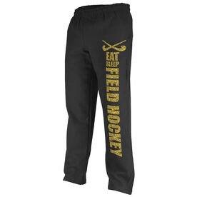 Field Hockey Fleece Sweatpants Eat Sleep Field Hockey