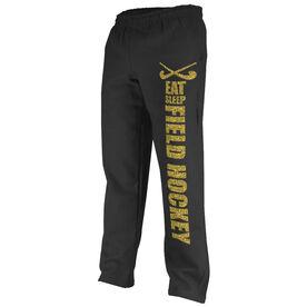 Field Hockey Fleece Sweatpants Eat Sleep Field Hockey