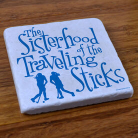 Sisterhood of the Traveling Sticks - Stone Coaster