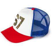 Trucker Hat - Army Custom Number