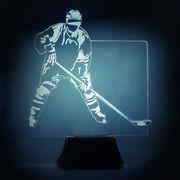 Hockey Acrylic LED Lamp Player