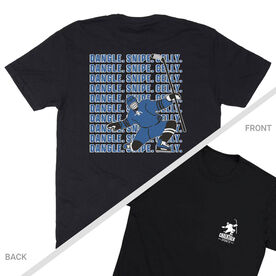 Hockey Short Sleeve T-Shirt - Dangle Snipe Celly Player (Logo Collection)