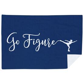 Figure Skating Premium Blanket - Go Figure