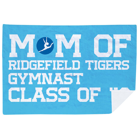 Gymnastics Premium Blanket - Personalized Gymnastics Mom
