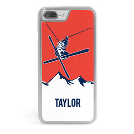 Skiing iPhone® Case - Personalized Airborne