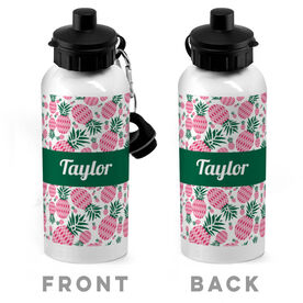 Personalized 20 oz. Stainless Steel Water Bottle - Pineapple Crazy
